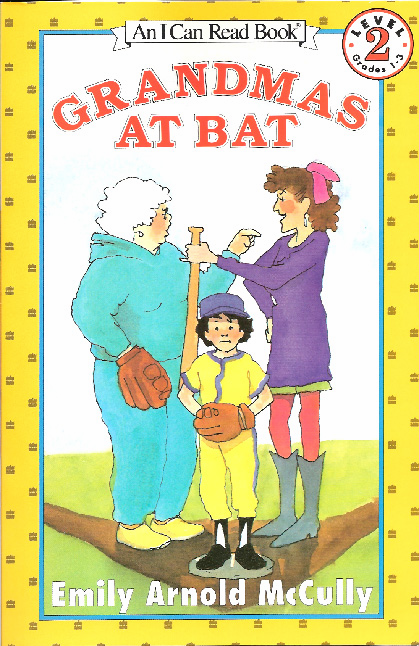 Grandmas At Bat Book<br>ONLY 2 LEFT!