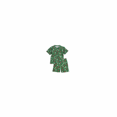 Green Baseball Youth 3 Children's Pajamas<br>ONLY 1 LEFT!