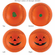 Halloween Orange Pumpkin Baseball<br>SORRY..SOLD OUT!