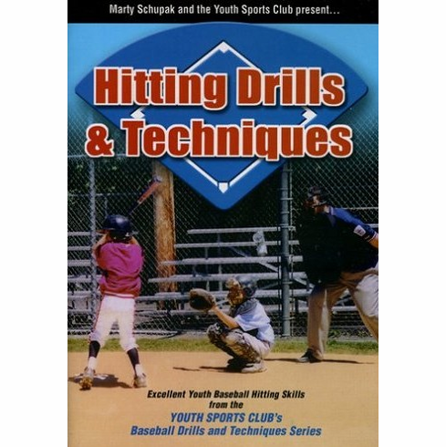 Hitting Drills & Techniques Baseball DVD