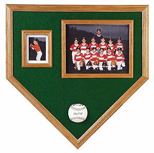 Home Plate Pic N Pic Baseball Cases