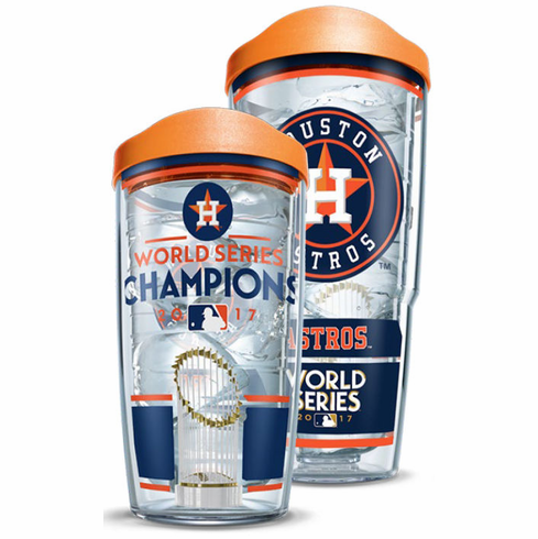 Houston Astros 2017 World Series Champions Cups with Lids by Tervis