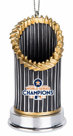 Houston Astros 2017 World Series Champions Resin Trophy Ornament<br>LESS THAN 24 LEFT TO PRE-ORDER!