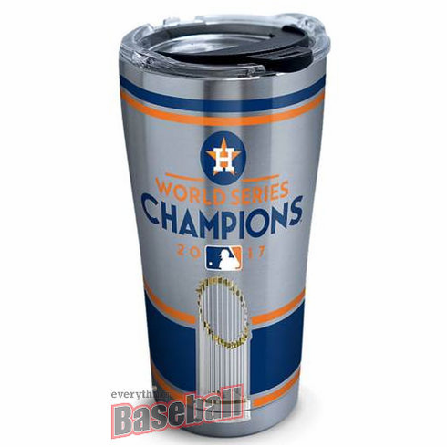 Houston Astros 2017 World Series Champions Stainless Steel Tumblers by Tervis<br>CHOOSE 20oz or 30oz!
