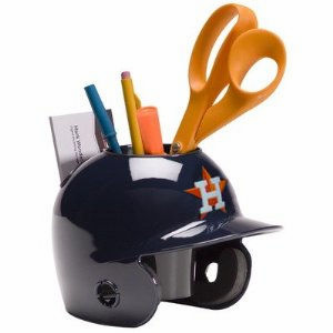 Houston Astros Baseball Helmet Desk Caddy<br>ONLY 4 LEFT!