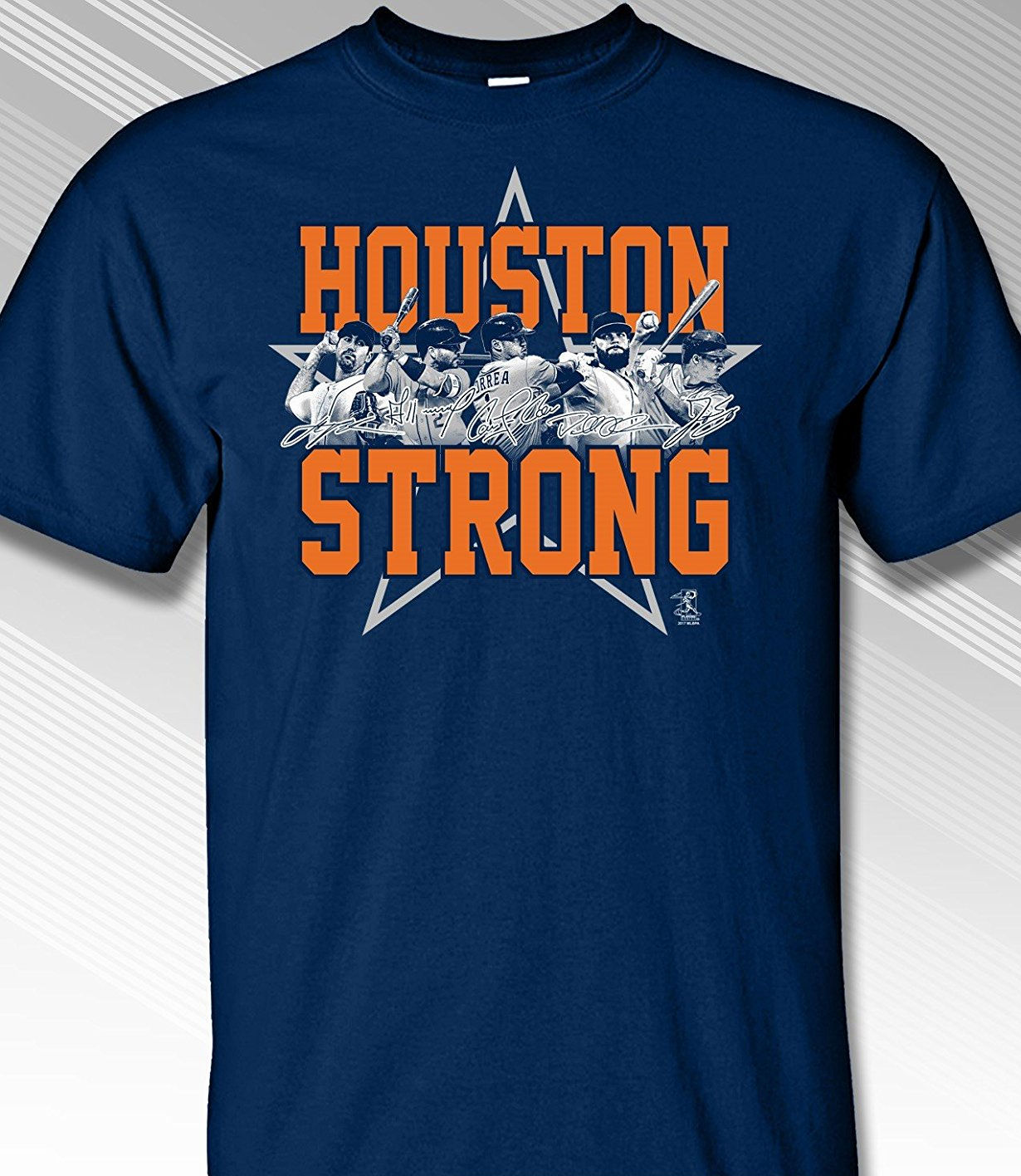 Houston Strong T-Shirt<br>Short or Long Sleeve<br>Youth Med to Adult 4X