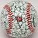 I Love You Heart Baseball