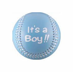 It's A Boy!! Crane Baby Baseball