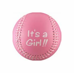 It's A Girl!! Crane Baby Baseball