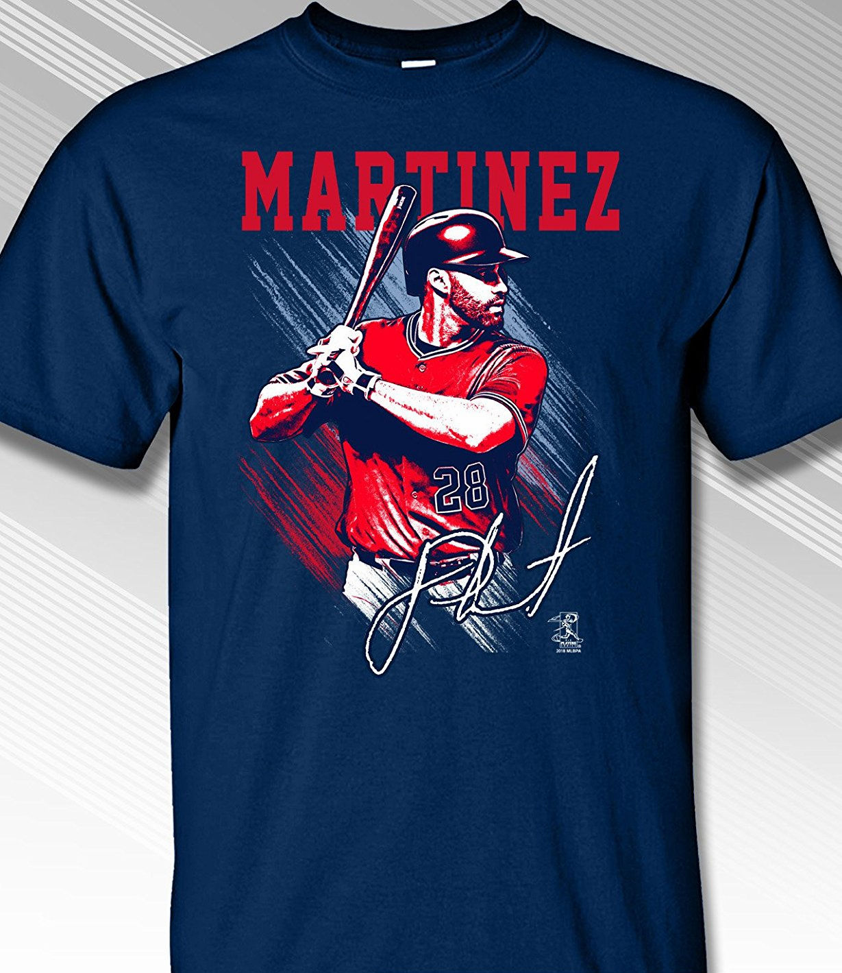 J.D. Martinez Boston Pastels T-Shirt<br>Short or Long Sleeve<br>Youth Med to Adult 4X
