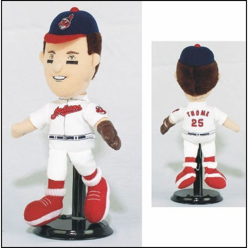Jim Thome #25 Cleveland Indians Lookalike Plush Collectible<br>ONLY 4 LEFT!