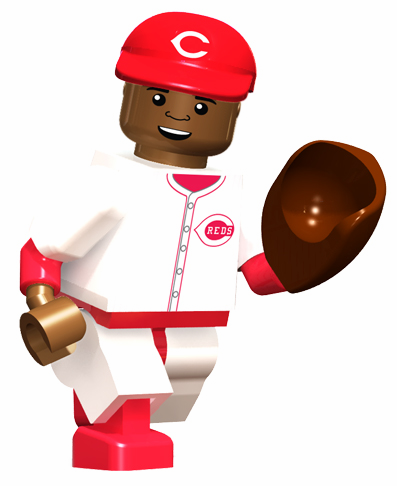 Joe Morgan Cincinnati Reds Hall of Fame OYO Mini Figure