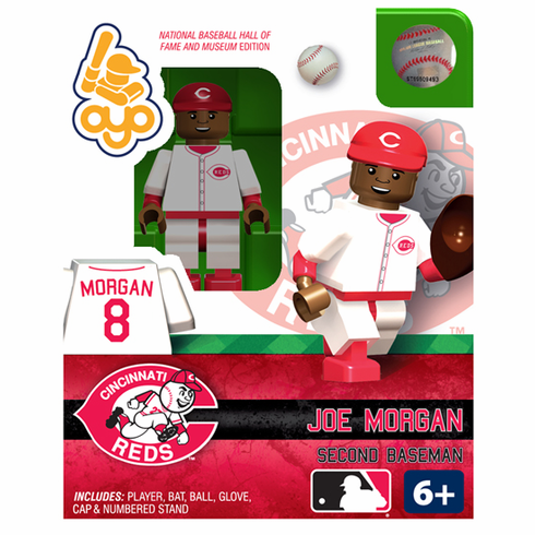 OYO SALE!<br>Joe Morgan Cincinnati Reds Hall of Fame OYO Mini Figure