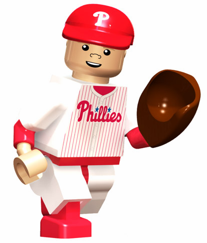 Jonathan Papelbon Philadelphia Phillies OYO Mini Figure