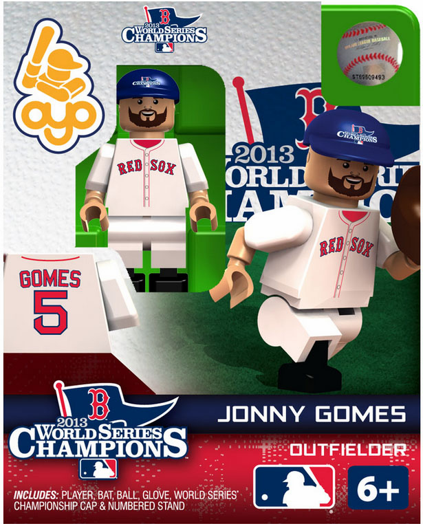 OYO SALE!<br>Jonny Gomes Boston Red Sox 2013 World Series Champions OYO Mini Figure