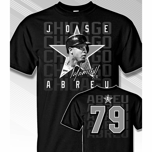 Jose Abreu Star Power T-Shirt<br>Short or Long Sleeve<br>Youth Med to Adult 4X