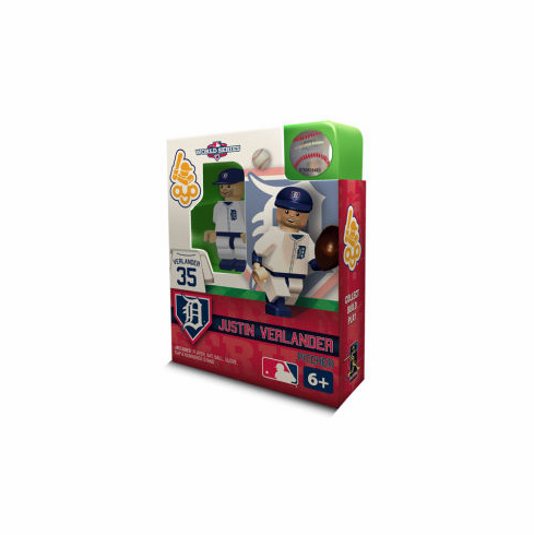 Justin Verlander Detroit Tigers 2012 World Series OYO Mini Figure
