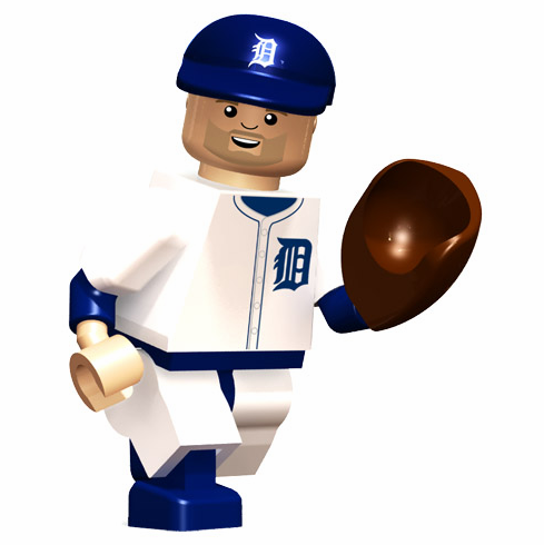 Justin Verlander Detroit Tigers OYO Mini Figure<br>ONLY 1 LEFT!