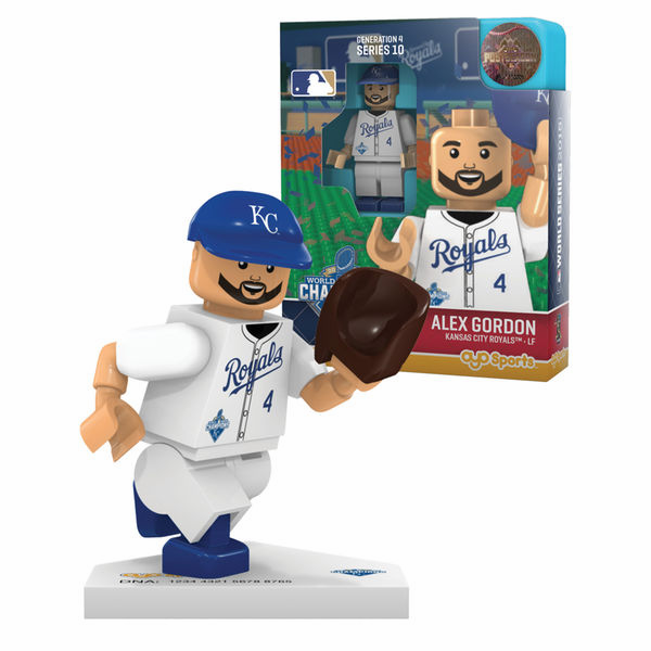 Kansas City Royals 2015 World Series Champions OYO Mini Figures<br>CHOOSE FROM 9 PLAYERS!<br>VERY LIMITED!