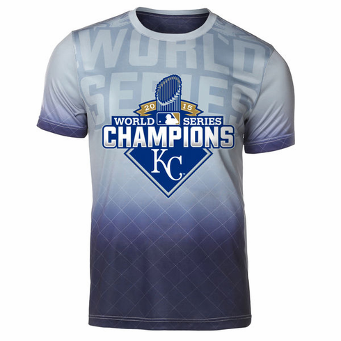 separation shoes fab23 c450e Kansas City Royals 2015 World Series Champions Sublimated ...