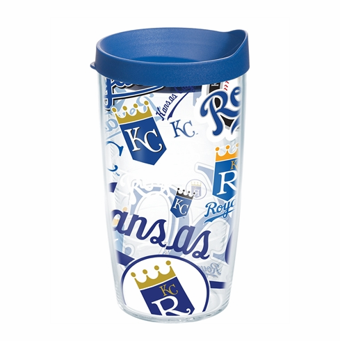 Kansas City Royals All Over Wrap Set of Cups with Lids by Tervis