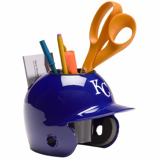 Kansas City Royals Baseball Helmet Desk Caddy<br>ONLY 3 LEFT!
