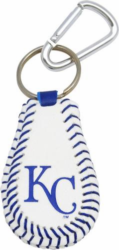 Kansas City Royals<br>Baseball Seam Keychain