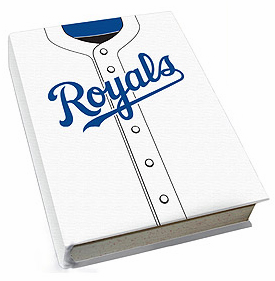 Kansas City Royals Stretch Book Cover<br>ONLY 1 LEFT!