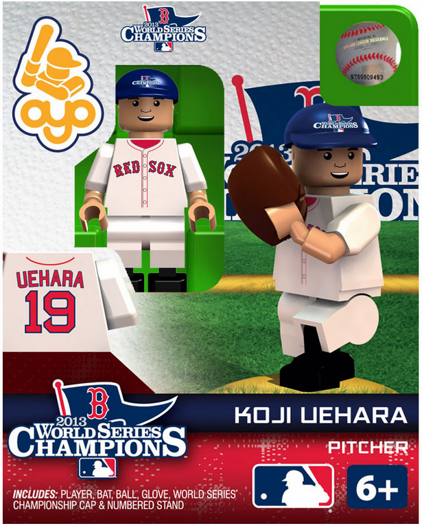 Koji Uehara Boston Red Sox 2013 World Series Champions OYO Mini Figure<br>ONLY 1 LEFT!