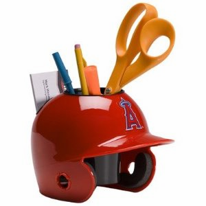 LA Angels of Anaheim Baseball Helmet Desk Caddy<br>ONLY 1 LEFT!