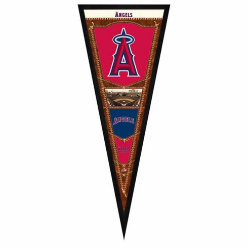 LA Angels of Anaheim Framed Pennant Sign