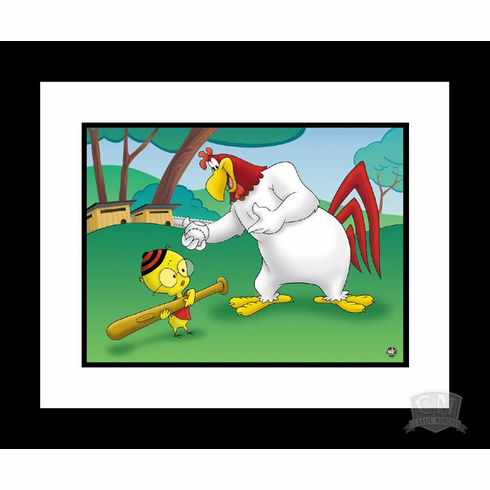 Let's Play Ball 16x20 Giclee