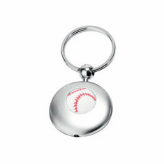 Light Up Baseball Key Chain