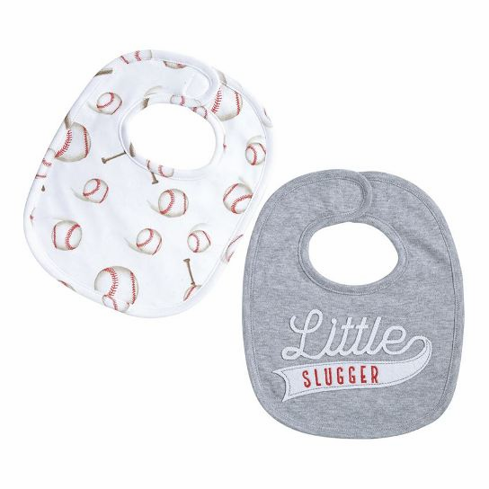 Little Slugger Baseball Bib 2pc Set