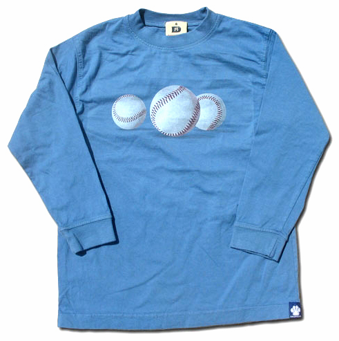 Long Sleeve Baseball 12mo T-Shirt by Dogwood<br>ONLY 2 LEFT!