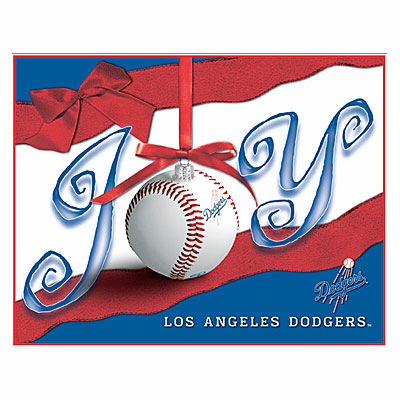 Los Angeles Dodgers Boxed Christmas Cards