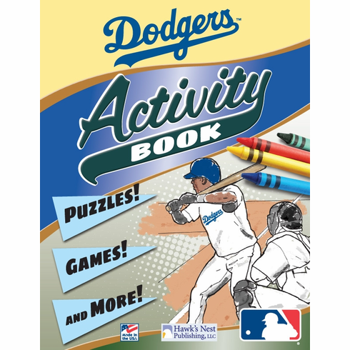 Los Angeles Dodgers MLB Activity Book