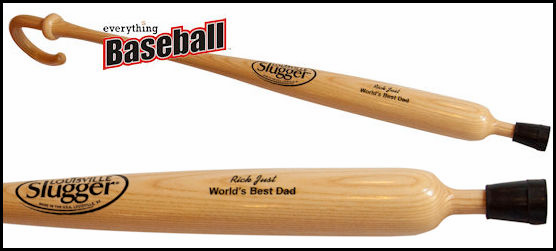 Louisville Slugger Personalized Baseball Bat Cane