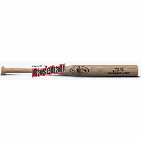 "Louisville Slugger Personalized Engraved Mini Wood Bat - 18"" Natural"