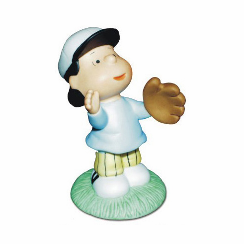 Lucy Fly Ball Baseball Figurine by Peanuts