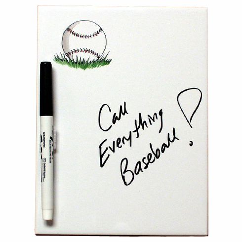 Magnetic Baseball Dry Erase Board