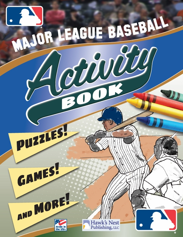 Major League Baseball MLB Activity Book