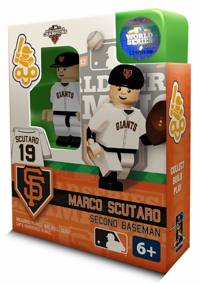 OYO SALE!<br>Marco Scutaro San Francisco Giants 2012 World Series Champions OYO Mini Figure<br>ONLY 3 LEFT!