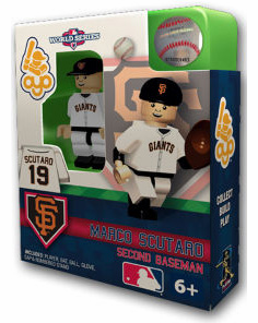 OYO SALE!<br>Marco Scutaro San Francisco Giants 2012 World Series OYO Mini Figure<br>ONLY 1 LEFT!