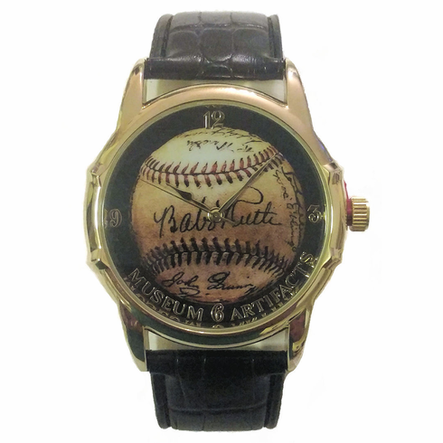 Men's Babe Ruth Signature Baseball Watch