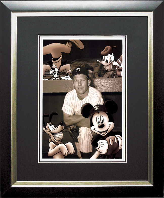 Mickey and the Mick Framed Lithograph