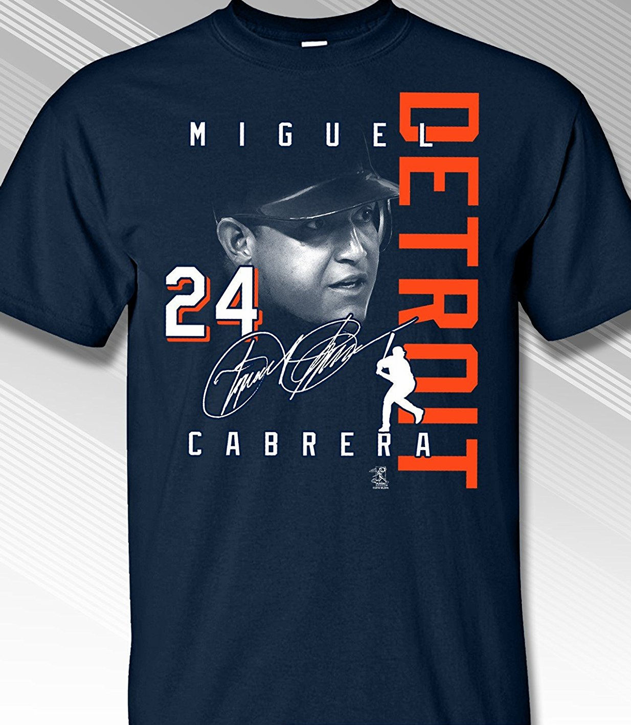 Miguel Cabrera DETROIT Signature T-Shirt<br>Short or Long Sleeve<br>Youth Med to Adult 4X
