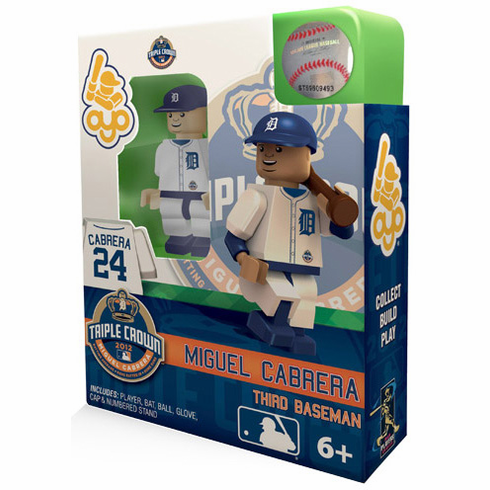 Miguel Cabrera Detroit Tigers 2012 Triple Crown OYO Mini Figure<br>ONLY 1 LEFT!