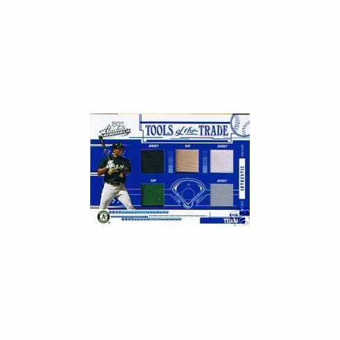 Miguel Tejada 2005 Tools of the Trade Game Used 5-piece Patch 08/15