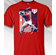 Mike Trout Los Angeles Colorblock T-Shirt<br>Short or Long Sleeve<br>Youth Med to Adult 4X